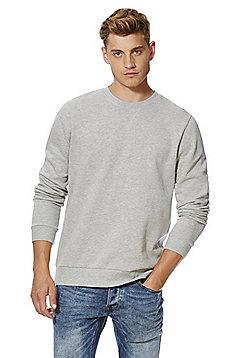 F&F Marl Sweatshirt with As New Technology - Grey