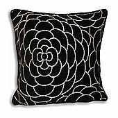Riva Home Tulisa Black Cushion Cover - 45x45cm
