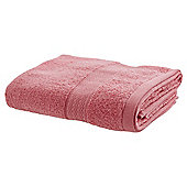 TESCO ZERO TWIST HAND TOWEL CORAL