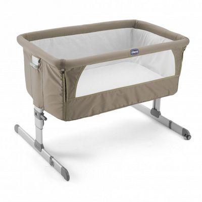 Chicco Next2Me Side-Sleeping Crib, Dove Grey