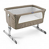 Chicco Next2Me Side-Sleeping Crib, Dove Grey