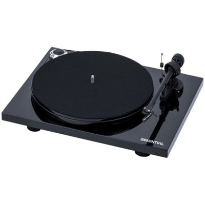 Project Essential III Turntable (Black)