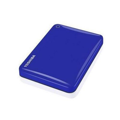 Toshiba Canvio Connect II 1TB 2.5 External Hard Drive - Blue