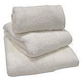 Luxury Egyptian Cotton Bath Towel - White