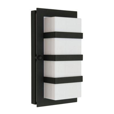 Black E27 Wall Light - 1 x 60W E27