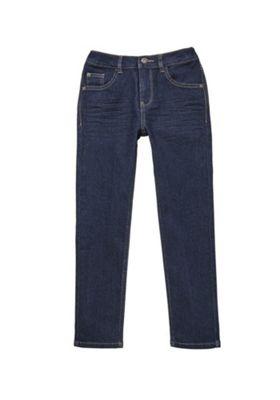 F&F Skinny Stretch Jeans Indigo Wash 5-6 years