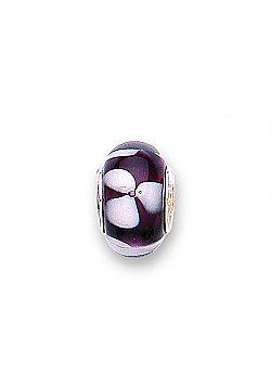 Jo For Girls Magnolia Glass Slide On Bead