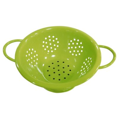Tesco Coloured Colander, Green