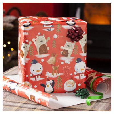 Buy Chilly Extra Wide Christmas Wrapping Paper 6m From Our Christmas Wrapping Paper Range Tesco