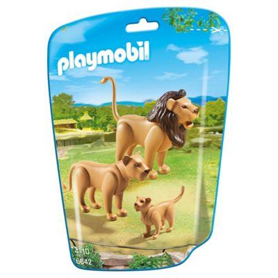 Playmobil 6642 City Life Zoo Lion Family