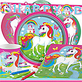 Unicorn Party Pack - Deluxe Pack for 8