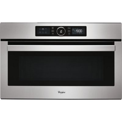 Whirlpool AMW730IX Built-in Microwave & Grill 1000Watts, 31 Litres, Stainless Steel