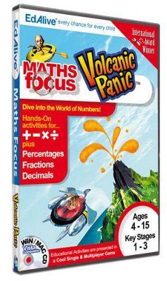 Maths Focus Volcanic Panic