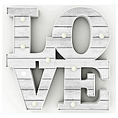 Love Led Light Up Sign
