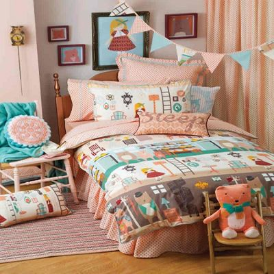 Goldilocks, Hiccups Single Bedding - 100% Cotton
