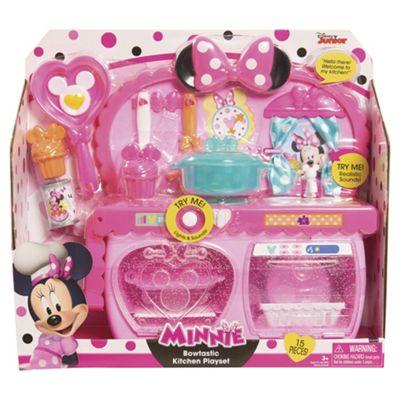 Disney Minnie Mouse Happy Helpers Bowtastic Kitchen Playset