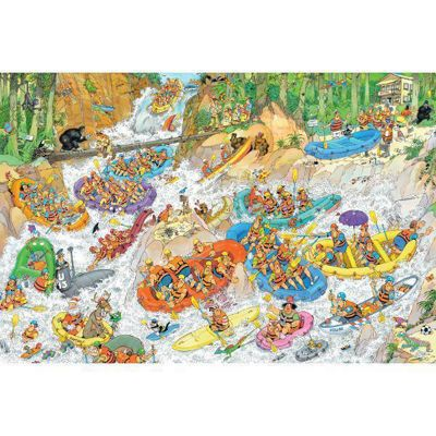 Wild Water Rafting - 1500pc - JvH Puzzle