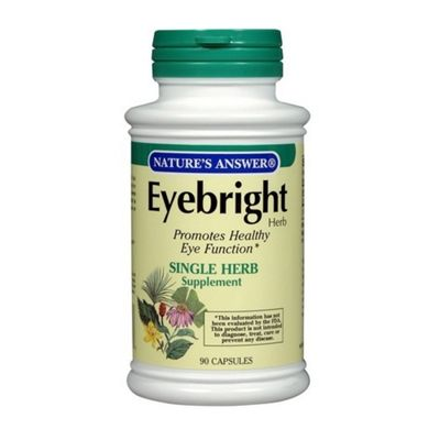 Nature's Answer Eyebright Herb Supplement 1oz