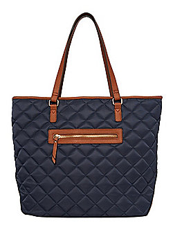 F&F Quilted Tote Bag