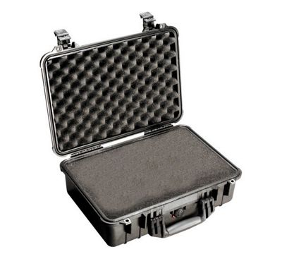 Peli 1500 Case With Foam Black