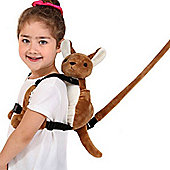 Pipsy Koala Fun Backpack - Kenny The Kangaroo - With Safety Rein
