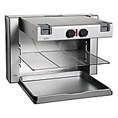 Witt WG1 Electric Wall Grill with 2 Heat Settings in Stainless Steel