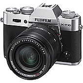 Fufifilm X-T10 SILVER 18-55MM XF lens kit