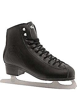 Lake Placid Firecat Mens Figure Ice Skates - Black