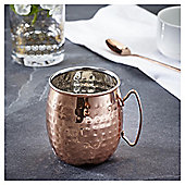 Fox & Ivy Copper Hammered Moscow Mule Mug