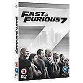 Fast & Furious 7 DVD