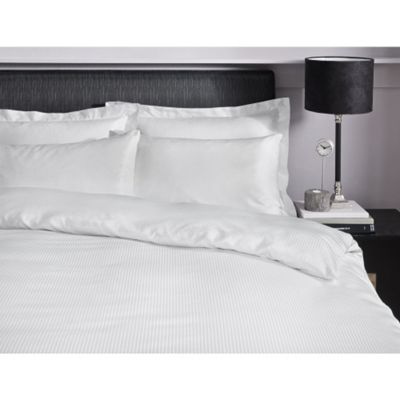Catherine Lansfield Platinum White Flat Sheet 300 Thread Count - Single