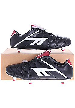 Hi-Tec League Pro SI Adult Football Boots Black/White/Red - Black