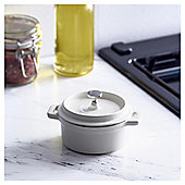 Go Cook Cast Iron Single Serve Casserole Cream