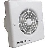 Manrose 4.8W Quiet Axial Bathroom Extractor Fan