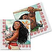 Moana Paper Party Napkins (pack of 20)