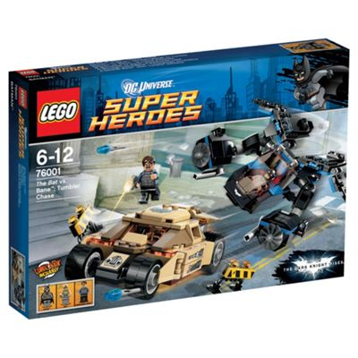 LEGO Super Heroes Batman: The Bat vs. Bane: Tumbler Chase 76001
