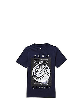 F&F Zero Gravity Augmented Reality T-Shirt with Free Game - Navy