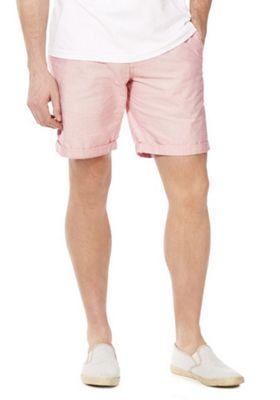 F&F Chino Shorts with Belt Pink 42 Waist