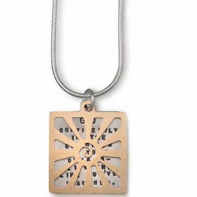 Kathy Bransfield Contemporary Necklace - Thoreau