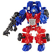 Transformers Age of Extinction Construct-Bots Dinobot Riders Optimus Prime Buildable Action Figure