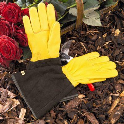 Gold Leaf Tough Touch Gardening Gloves Ladies