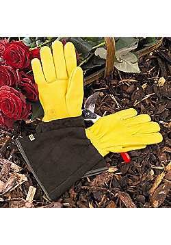 Gold Leaf Tough Touch Gardening Gloves Ladies