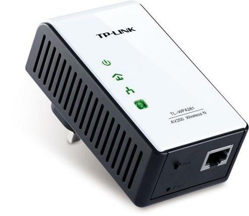 TP-LINK 200 Mbps Powerline Extender with Wireless N Access Point