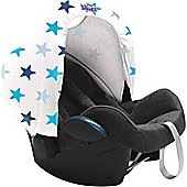 Dooky Hoody Replacement Infant Car Seat Hood Blue Star
