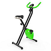 RevXtreme X-Bike Folding Magnetic Exercise Bike Indoor Cycle Green