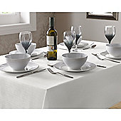 Select Round Tablecloth 90cm - White