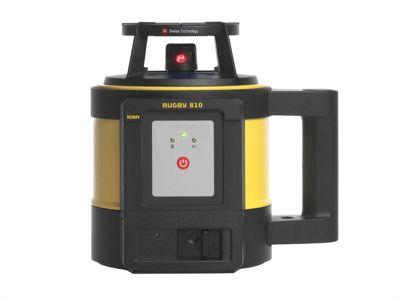 Leica Geosystems Rugby 810 Rotation Laser & Rod Eye 140 Li-Ion