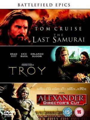 Battlefield Epics - The Last Samurai/Troy/Alexander  (DVD Boxset)