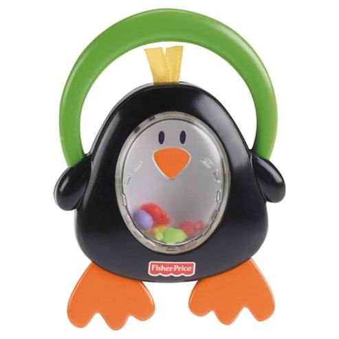 Fisher-Price Monkey, Penguin or Lollipop Rattle, Only 1 Supplied