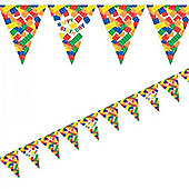Creative Party Block Party Flag Bunting - 3.7m